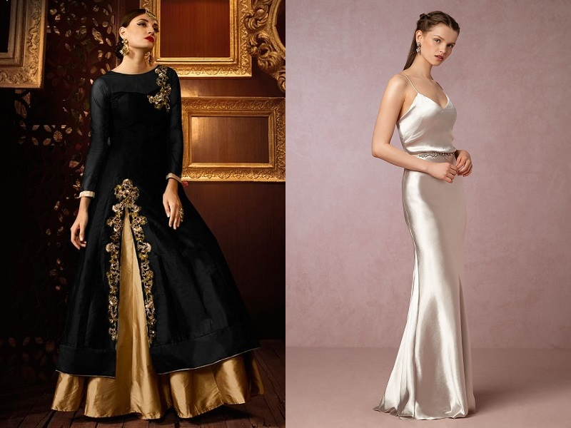 Buying A New Fashion Dress With Silk Material